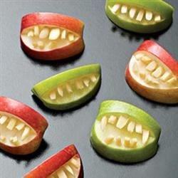 fruit apple teeth treats