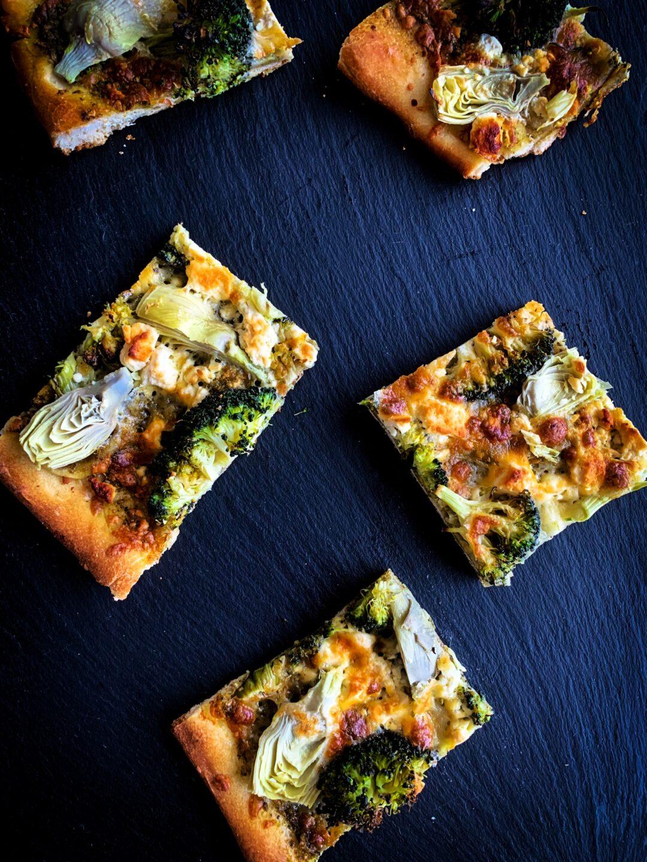 easy weeknight sheet pan pizza