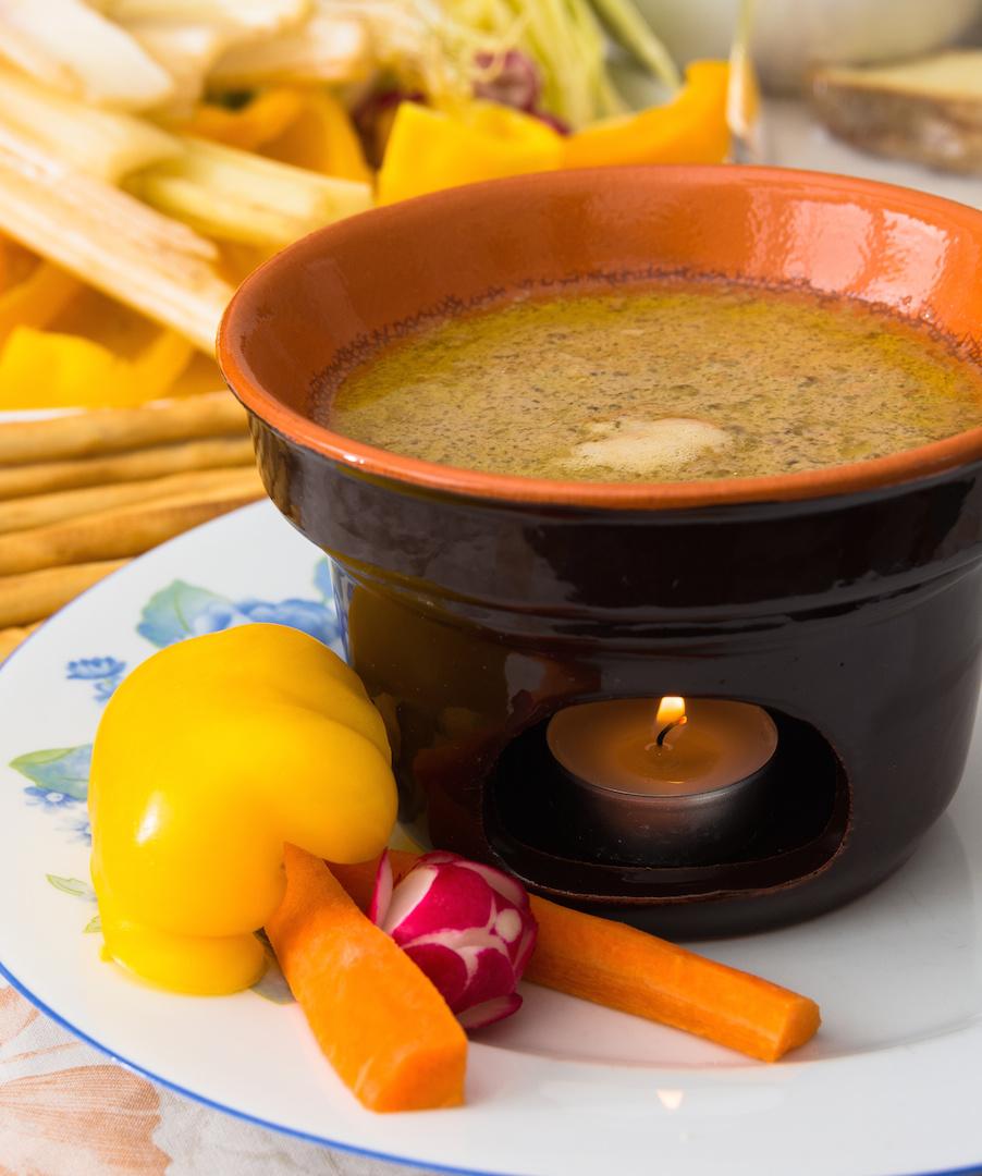 Bagna Cauda (Warm Garlic Dip) | A Menu For You