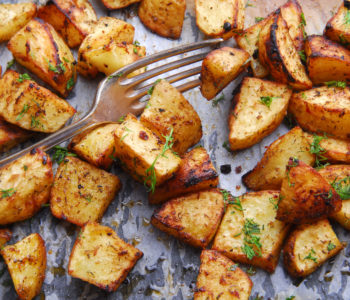 the secret to the crispiest roasted potatoes